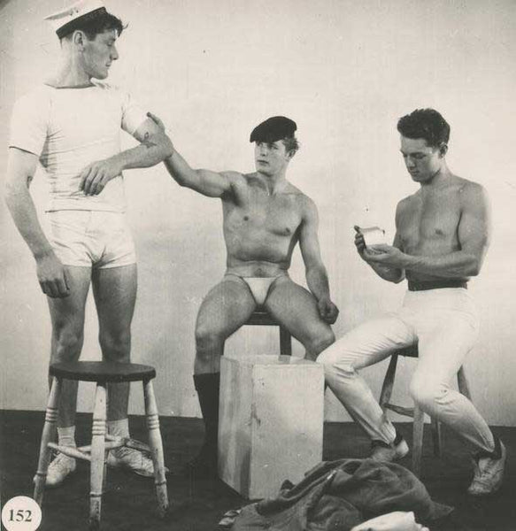 Royale and Hussar vintage gay photo