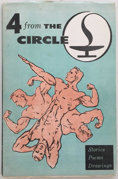 4 from The Circle, Vintage gay illustrated paperback
