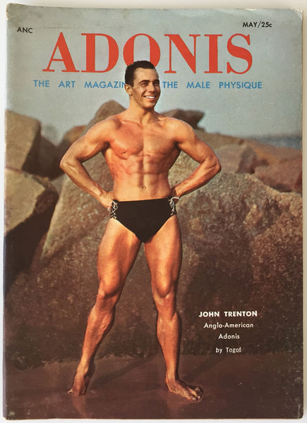 Adonis vintage physique magazine May 1957