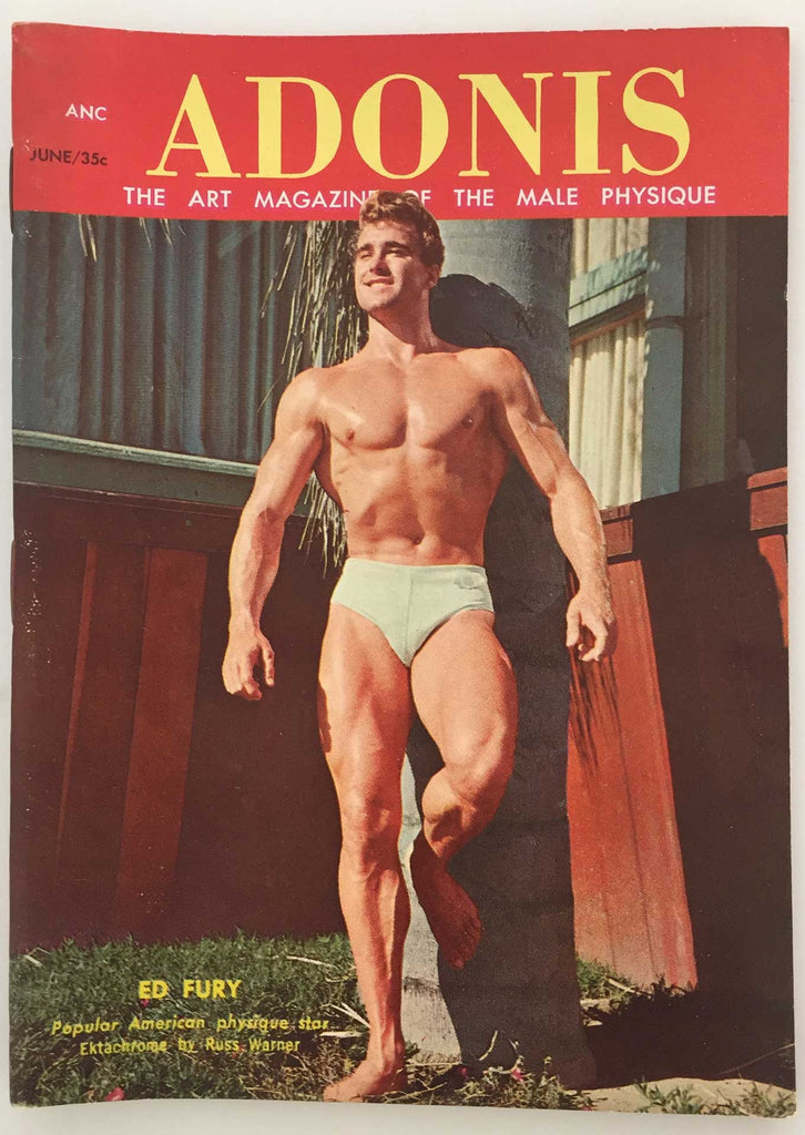 Adonis vintage physique magazine June 1957