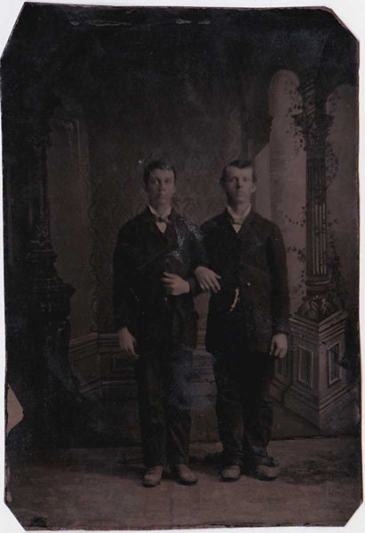 Affectionate Men: Vintage Tintype