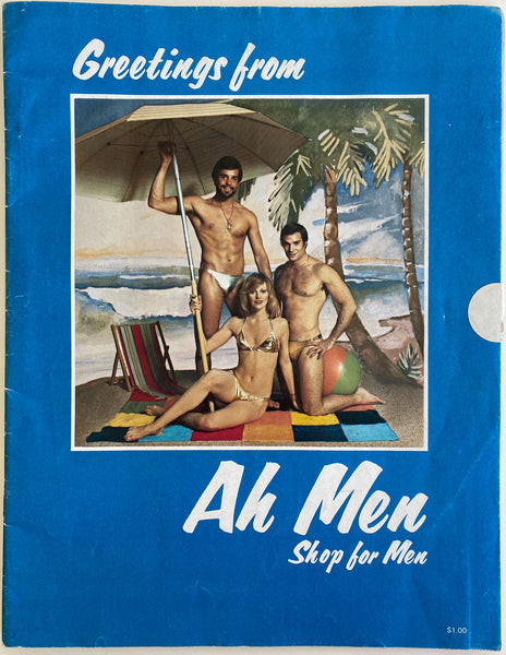 Vintage Ah Men catalog c. 1976, filled with handsome models and great period fashion
