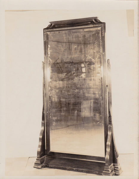 Altman Collection: Full-length Tilting Mirror vintage sepia photo c. 1920s