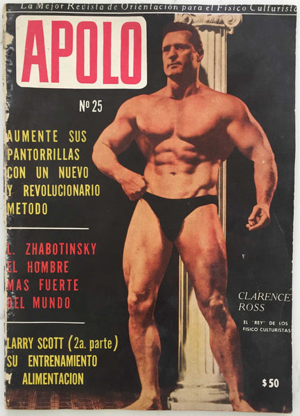 Apolo: Vintage Argentinian Physique Magazine