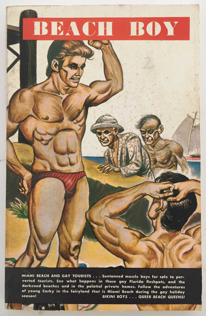 Beach Boy: Vintage Gay Pulp Novel