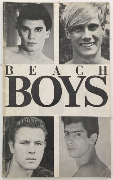 Beach Boys: Vintage gay physique magazine