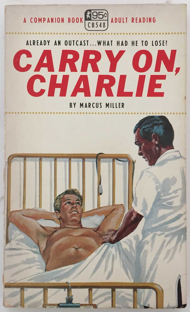 Carry On, Charlie, vintage gay pulp novel 1967