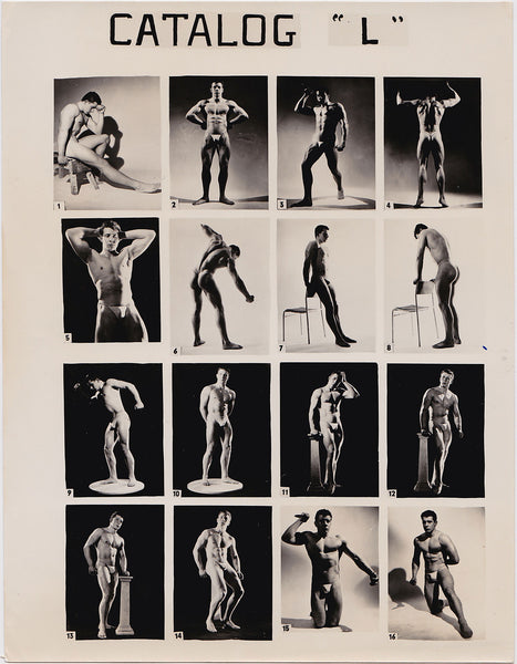Vintage Physique Catalog Dolphin of London