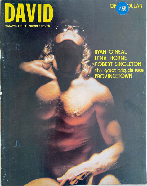 David Vintage Gay Magazine July 1973, Vol 3, No 7