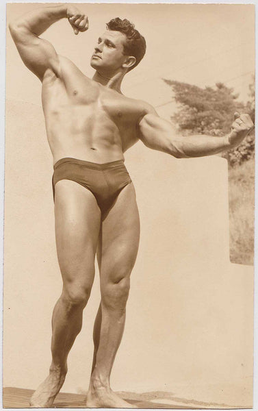 Denny of SF: Vintage Physique Photo Bodybuilder Vince Gironda