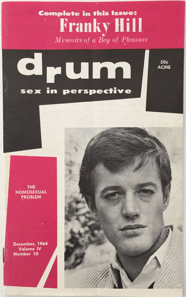 Drum Vintage Gay Magazine