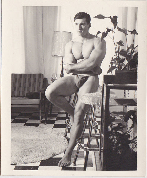 Kris Studio Male Nude: Bob Kolinsky at Home