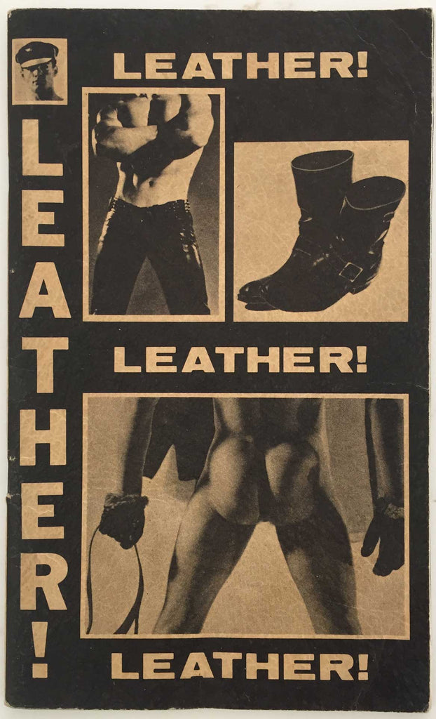 Leather! Gay fetish magazine, 1965, Avery Willard
