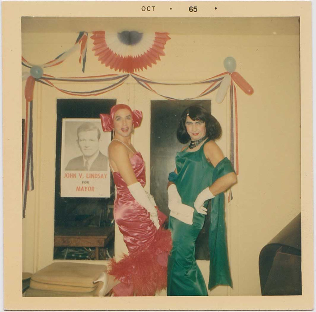 Drag Queens for Mayor Lindsay: Vintage Gay Photo