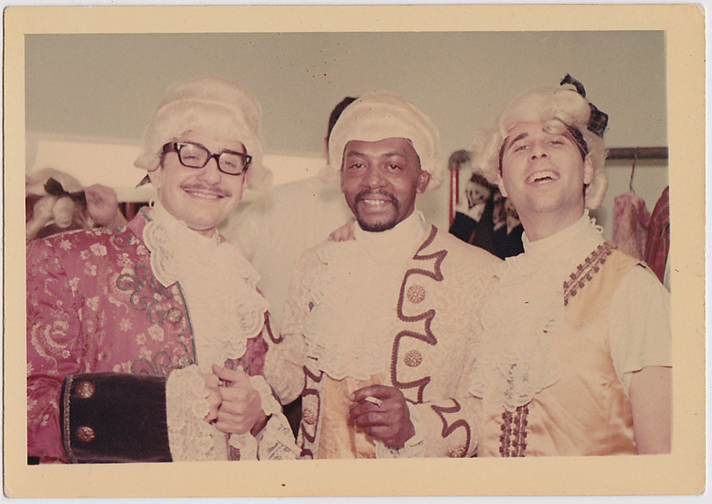 Three Men in Costume