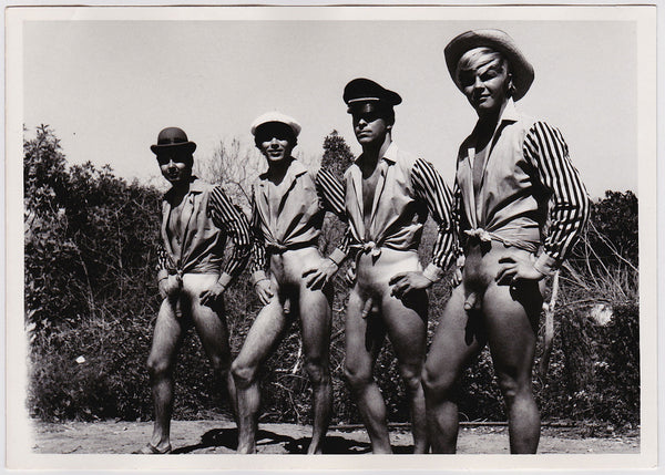Quartet 734, by Pat Pocco vintage gay photo