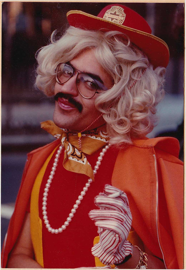 Drag Queen Marshall: Vintage Gay Photo