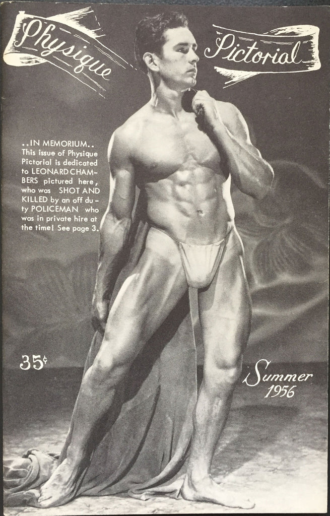 Physique Pictorial Magazine Summer 1956