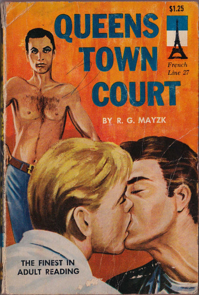 Queens Town Court: Vintage Gay Pulp Novel