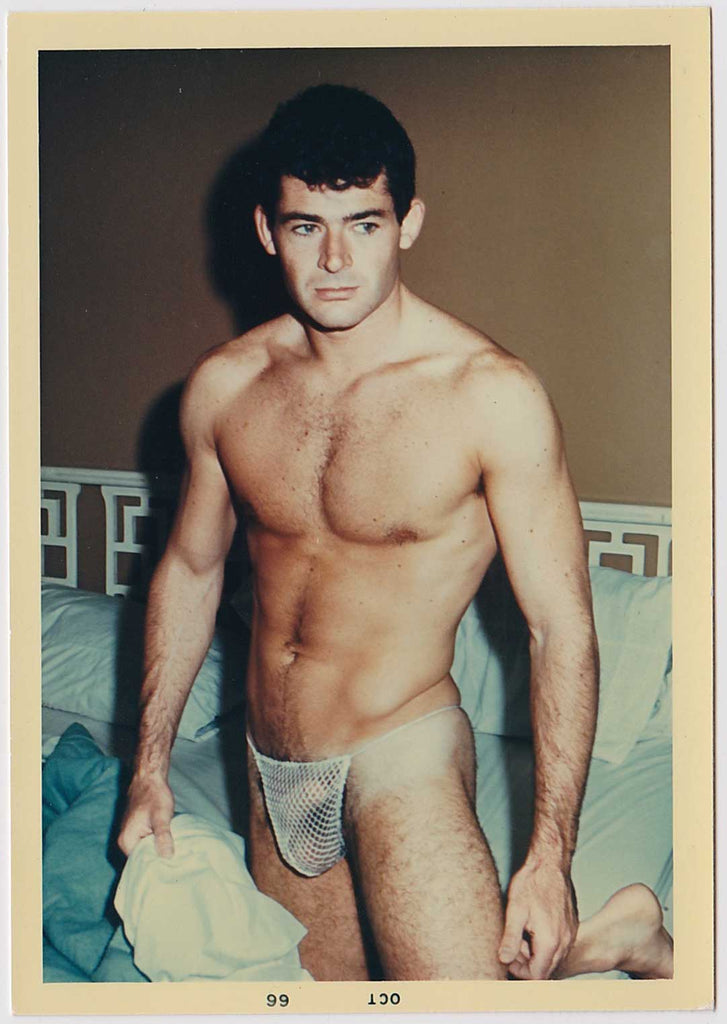 Mel Roberts Vintage Photo: Ron Brouillette in Posing Strap