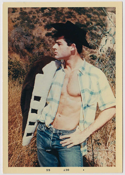 Mel Roberts Vintage Photo: Ron Brouillette Bare Chested