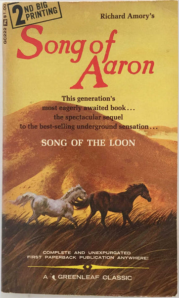 Song of Aaron: Vintage Gay Novel