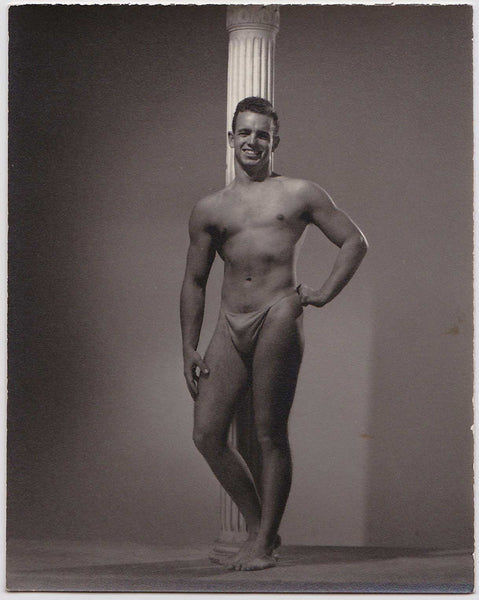 Spartan of Hollywood: Male Nude with Column