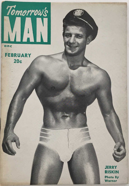 Tomorrow's Man: Vintage Physique Magazine February 1954