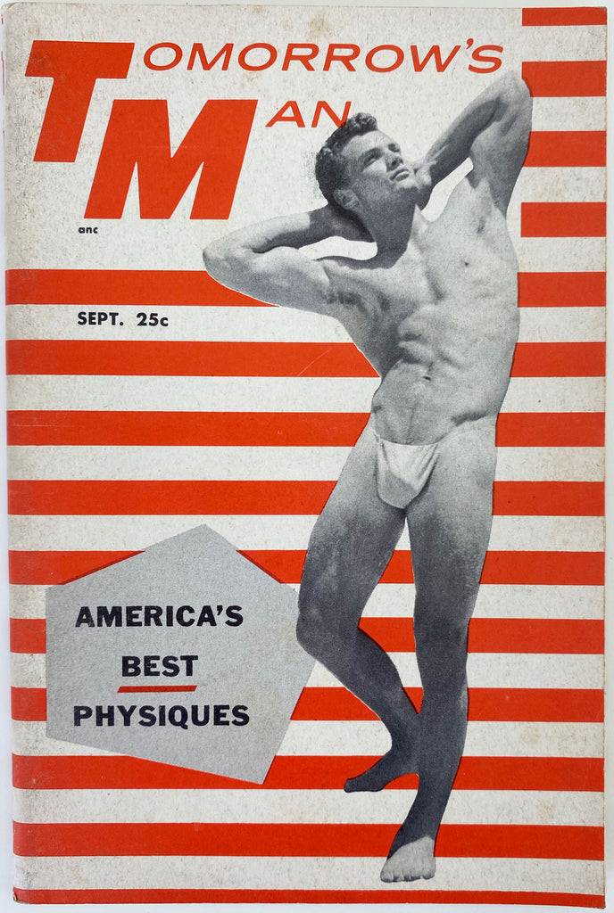 Tomorrow's Man: Vintage Physique Magazine Sept 1956