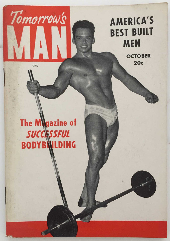 Tomorrow's Man: Vintage Physique Magazine October 1953