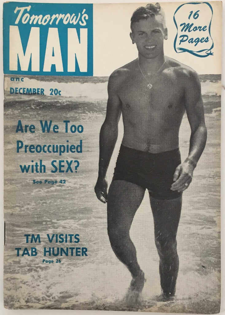 Tomorrow's Man: Vintage Physique Magazine with Tab Hunter