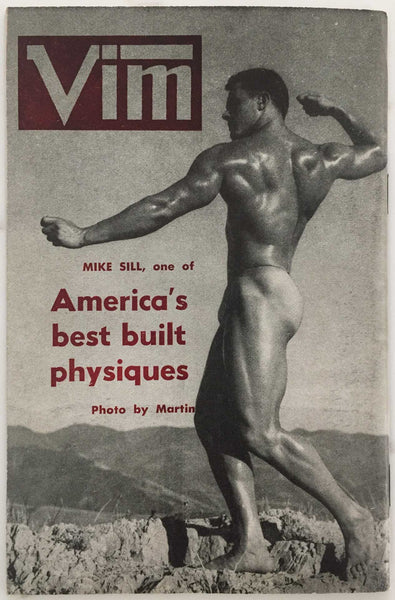 Vim: Vintage Physique Magazine May 1957