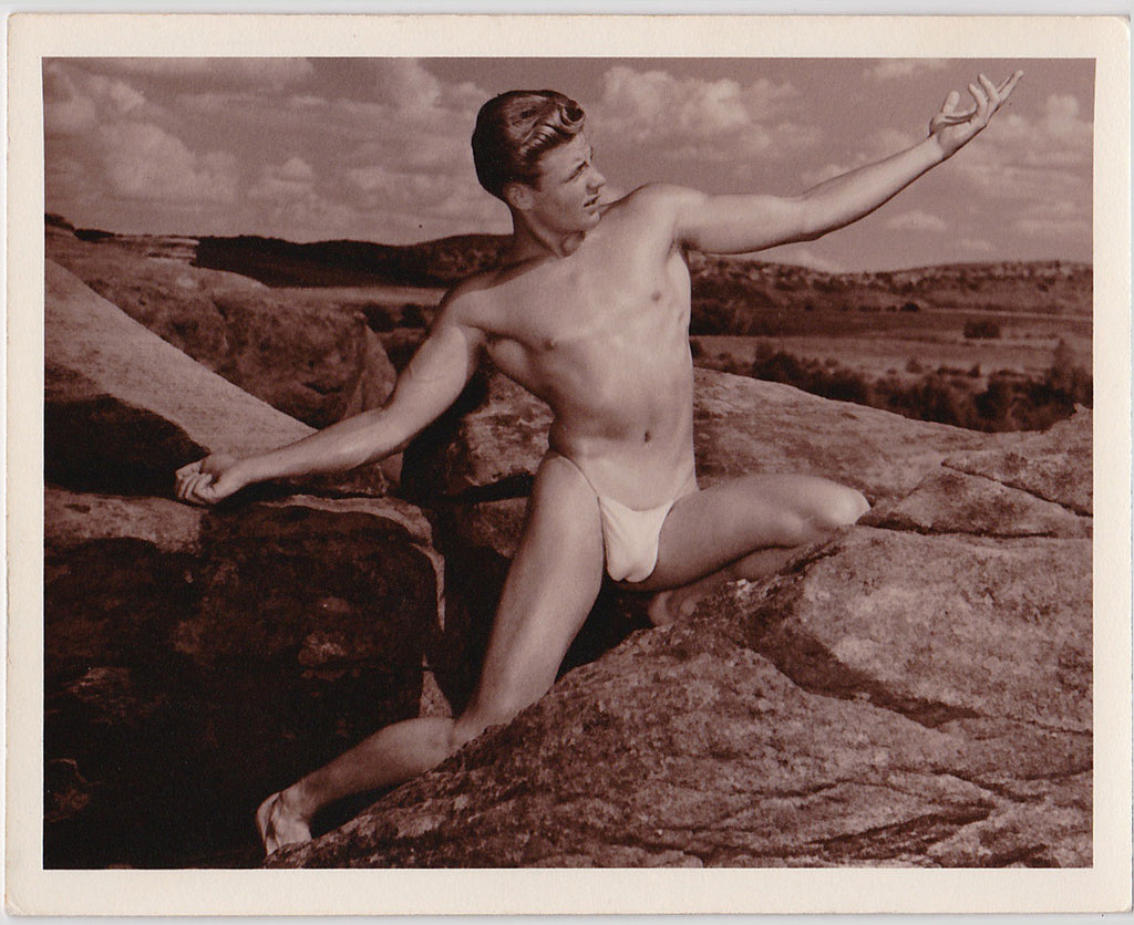 Western Photo Guild Nude with Posing Strap 2