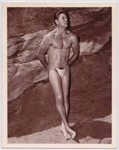Western Photo Guild Vintage Male Nude (Posing Strap)