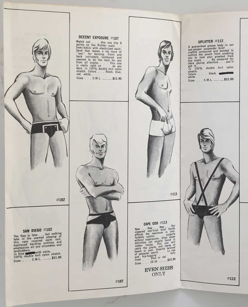 Woulfe: Gay Fashion Illustrated Catalog