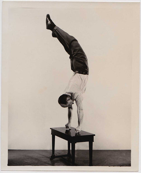Vintage Photo of Acrobat: Lot of 3