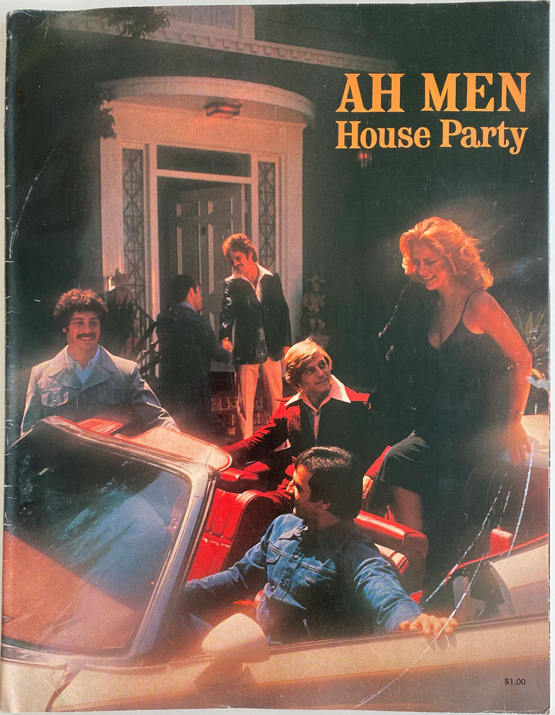 Vintage Ah Men catalog filled with handsome models and great period fashion.