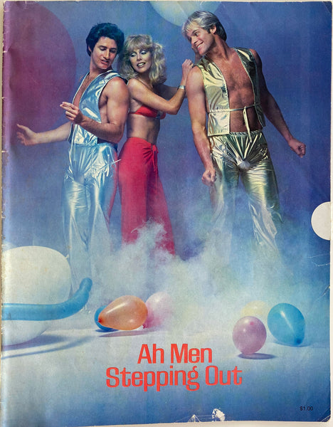 Vintage Ah Men filled with handsome models and great period fashion., c. 1976.