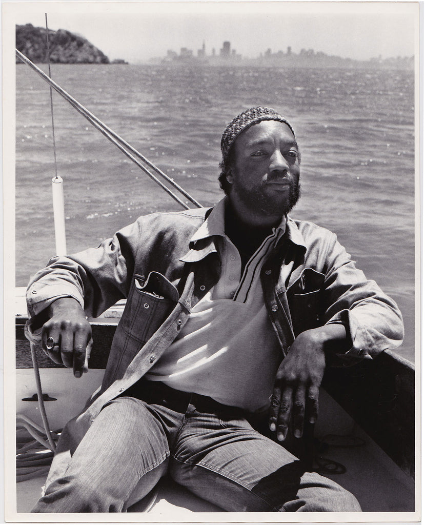 Crawford Barton: Paul Winfield SF Bay vintage photo 1970s