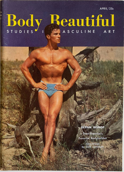 Body Beautiful, Studies in Masculine Art  April 1957, Vol 2. No. 6.
