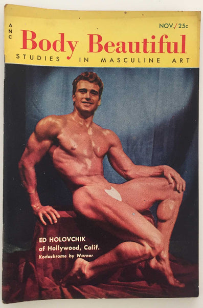 Body Beautiful, Studies in Masculine Art  November 1954, First Issue