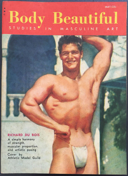 Body Beautiful Vintage Physique Magazine: May 1955