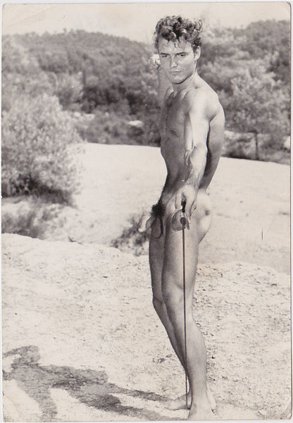 Jean Ferrero Vintage Gay Photo: Male Nude Bodybuilder Klaus