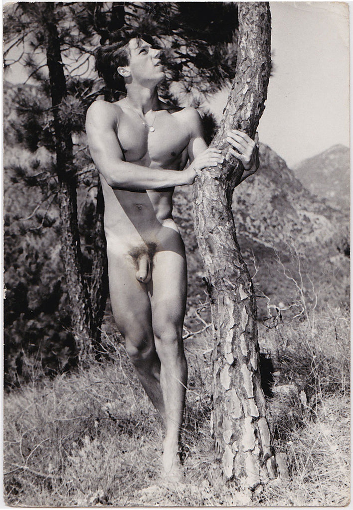 Vintage photo of a male nude identified as Alex Nitzche, Germany, by Jean Ferrero