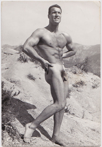 Jean Ferrero Male Nude Pierre Ross vintage physique photo