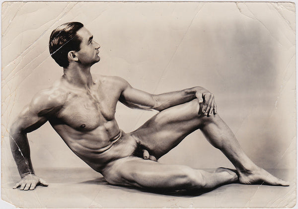 Al Urban: Reclining Male Nude vintage photo