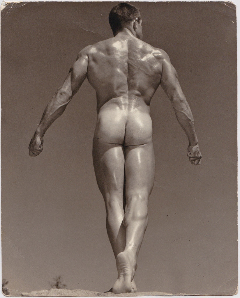 Western Photography Guild Male Nude Ray McGuire Rear View