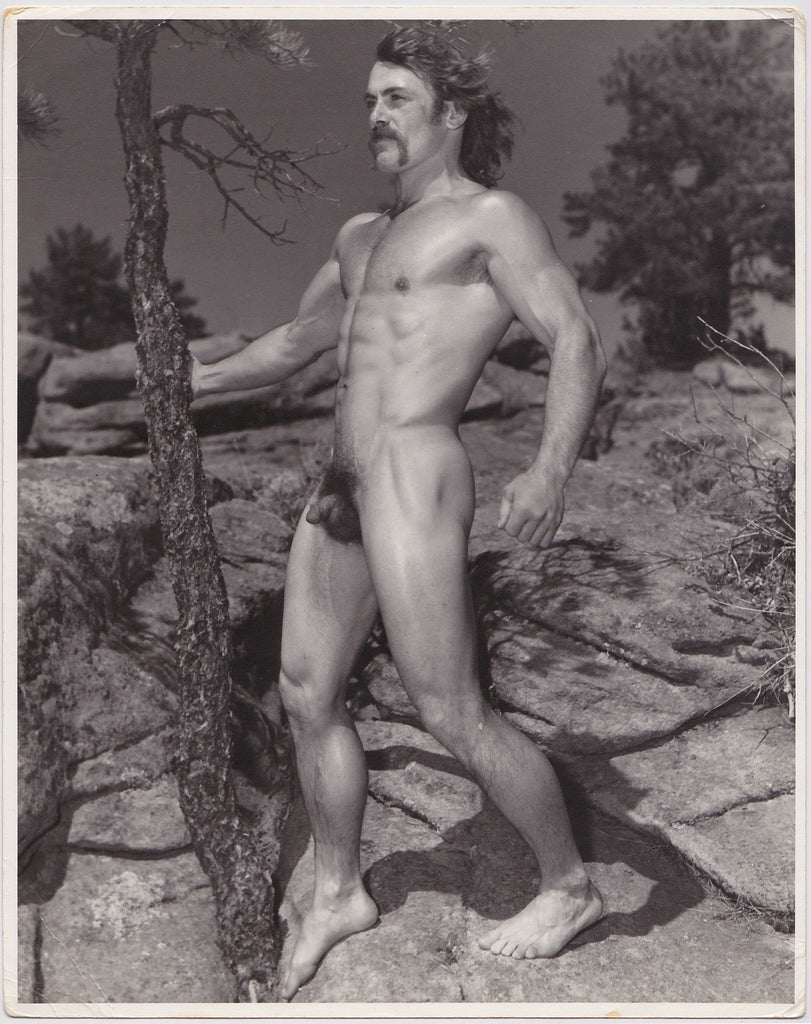 Western Photo Guild Oscar Navarre Holding Tree