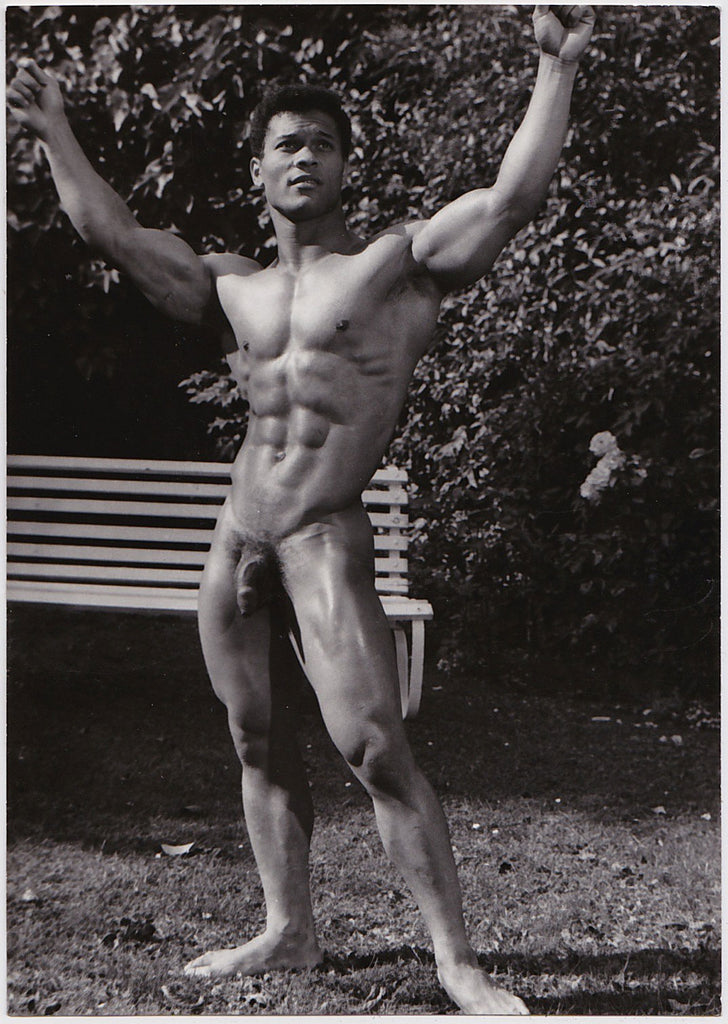 Jean Ferrero Male Nude: Rick Wayne Standing vintage physique photo