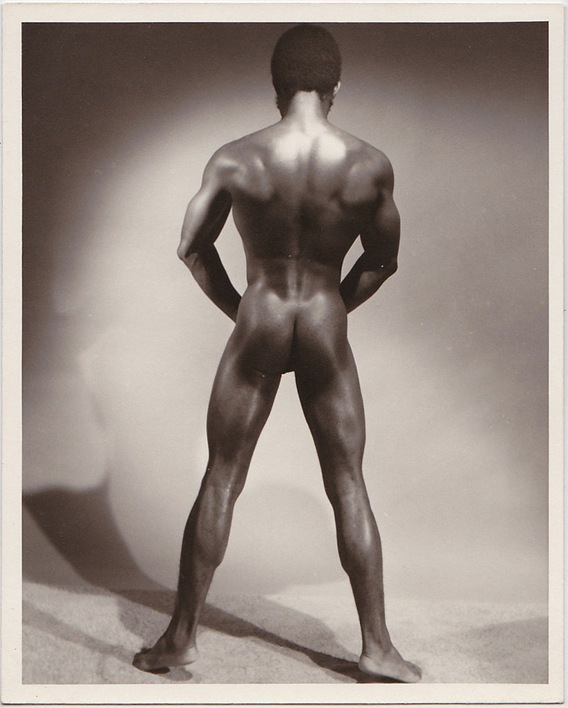 Western Photo Guild: Ronnie Moore Back View vintage physique photo